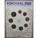 2020 - PORTUGAL - EUROS - BLISTER - 8 MONEDAS