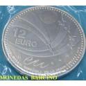 2010 - UNION EUROPA - 12 EUROS - ESPAÑA - PLATA