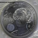 2011 - CAMPOAMOR - 20 EUROS - ESPAÑA - PLATA