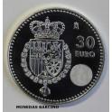 2014 - FELIPE VI - 30 EUROS - ESPAÑA - PLATA