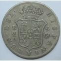 1819 - FERNANDO VII - 4 REALES - MADRID- ESPAÑA