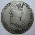 1820 - FERNANDO VII -8 REALES - MEXICO