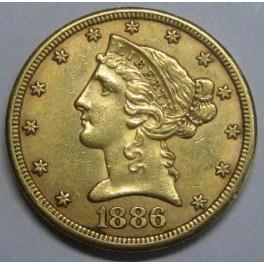 1886-5-dollars-estados-unidos-liberty-head