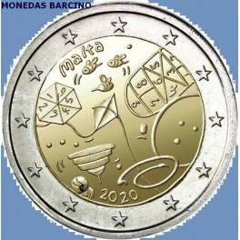 2020 - JUEGOS - 2 EUROS - MALTA