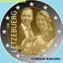 2020 - PRINCIPE CHARLES - 2 EUROS - LUXEMBURGO -TECNICA GOFRADO