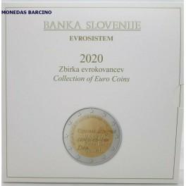 2020 - ESLOVENIA - EUROS - BLISTER - 10 MONEDAS