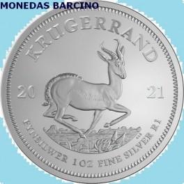 2021 - KRUGERRAND - ONZA - SUD AFRICA - PLATA