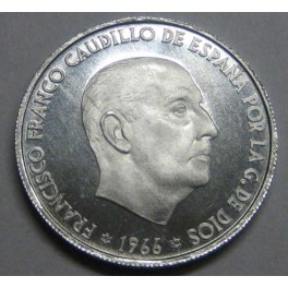 1966  74 - 50 CENTIMOS - FRANCO -MADRID