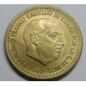 1947 49 - 1 PESETA - ESTADO ESPAÑOL- FRANCO