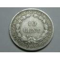 1879- VIETNAM - 10 CENTIMES- FRANCIA -COCHIN CHINA