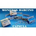 2014 - 19mm -CAPSULAS PARA MONEDAS -  LEUCHTTURM - REDONDAS