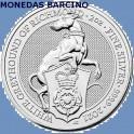2021 - GALGO PERRO - 5 POUNDS LIBRAS - GRAN BRETAÑA - 2 ONZAS