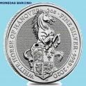 2020 - CABALLO - 5 POUNDS  LIBRAS- GRAN BRETAÑA - 2 ONZA