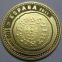 2011- SUINTILA - TRIENTE VISIGODO - 100 EUROS