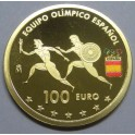 2016 - EQUIPO OLIMPICO ESPAÑOL - 100 EUROS