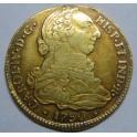 1790 - 4 ESCUDOS - CARLOS IV - POPAYAN -COLOMBIA - CHARLES IV-GOLD