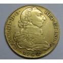 1782 - 4 ESCUDOS - CARLOS III - MADRID - SPAIN