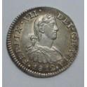 1812 - FERNANDO VII -1/2 REAL - MEXICO