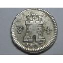 1803 - POTOSI - 1/4 REAL - CARLOS IV - BOLIVIA
