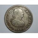 1798 - MEXICO - 1/2 REAL - CARLOS IV -PLATA