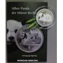 2016 - OSO PANDA -1/2 ONZA - ALEMANIA-BERLIN