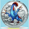 2021 -THERIZINOSAURUS - 3 EUROS - AUSTRIA- COLOR