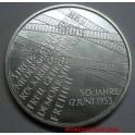 2003- 50 AÑOS 1953 - 10 EUROS - ALEMANIA -PLATA