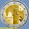 2021 - TOLEDO  - 2 EUROS -  ESPAÑA