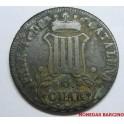 1837 - ISABEL II - 6 CUARTOS - BARCELONA - CATALUÑA - C