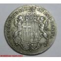 1833 - BARCELONA - MEDALLA - ISABEL II