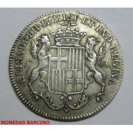1833 - BARCELONA - MEDALLA - PESETAS - REAL -ISABEL II