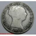 1852- BARCELONA - 4 REALES - ISABEL II - ESPAÑA