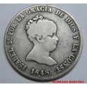 1848 - MADRID - 4 REALES - ISABEL II