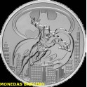 2021- BATMAN - 2 DOLLARS - NIUE -ONZA - PLATA