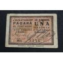 1937 - BARBENS - 1 PESETA - LLEIDA- LERIDA