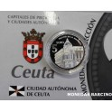 2010 - CEUTA - 5 EUROS - ESPAÑA- PLATA