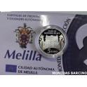 2010 - MELILLA- 5 EUROS - ESPAÑA- PLATA