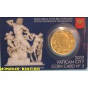 2012 VATICANO -  EUROS - PAPA BENEDICTO XVI
