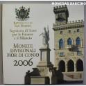 2006 - DELFICO- EUROS - SAN MARINO - 9 MONEDAS