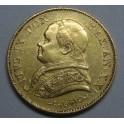 1866 - VATICANO - 20 LIRE - PIUS IX - GOLD