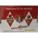 2020 - MONACO - EUROS - 8 MONEDAS - BLISTER