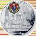 2021- CATEDRAL BURGOS- 10  EUROS- ESPAÑA