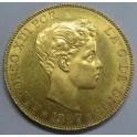 1897 -100 PESETAS  - ALFONSO XIII - GOLD