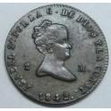 1842 - JUBIA - 2 MARAVEDIS -ISABEL