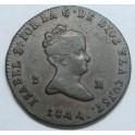 1844 - JUBIA - 2 MARAVEDIS -ISABEL
