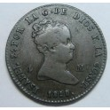 1850 - SEGOVIA - 4 MARAVEDIS - ISABEL II