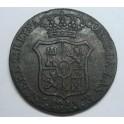 1843 - BARCELONA - 6 CUARTOS - ISABEL II - CATALUÑA