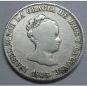 1843 - BARCELONA - 4 REALES - ISABEL II