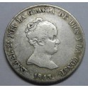 1843 - SEVILLA  - 4 REALES - ISABEL II