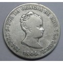 1844 - BARCELONA - 4 REALES - ISABEL II